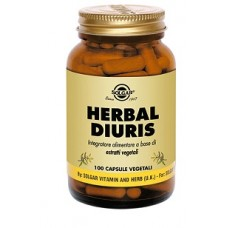 HERBAL DIURIS 100 CPS SOLGAR