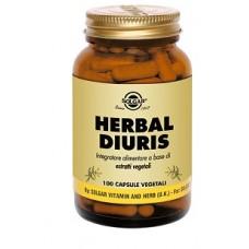 HERBAL DIURIS 100 CPS SOLGAR