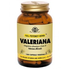 """VALERIANA 100VEGICPS """"SOLGAR"""""""