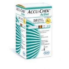 ACCU-CHEK ACTIVE GLUCOSE 50STR