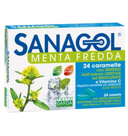 SANAGOL MENTA FREDDA 24CARAMEL