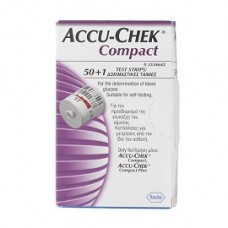ACCU-CHEK COMPACT 50+1STR