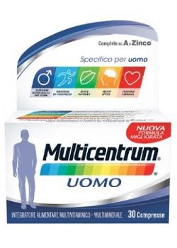 MULTICENTRUM UOMO 30CPR