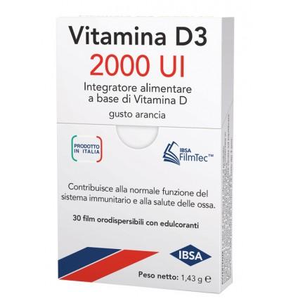VITAMINA D3 IBSA 2000UI 30FILM ORA