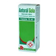 ANTORAL GOLA SPRAY*SPRAY 15ML