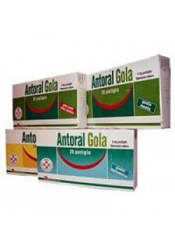 ANTORAL GOLA*20PAST 5MG BALSAM