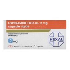 LOPERAMIDE HEXAL*15CPS 2MG