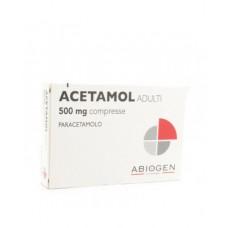 ACETAMOL*AD 20CPR 500MG