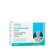 ACETILCISTEINA PHAR*30BS 200MG