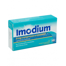 IMODIUM*12 cpr orosol 2 mg